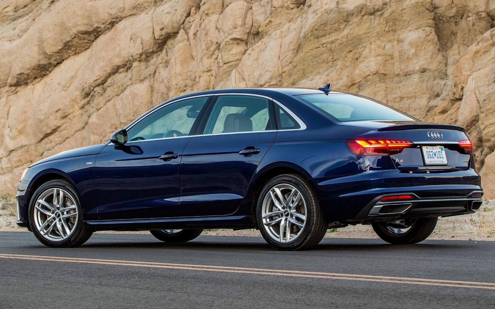 Audi A4 2021 chega aos EUA com facelift e nova multimidia ...