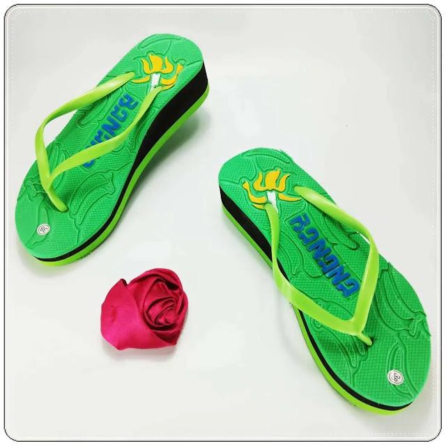 Sandal Terlucu - Wedges Pres Jely