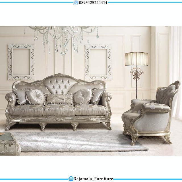 New Sofa Tamu Mewah Terbaru Luxury Carving Jepara RM-0378