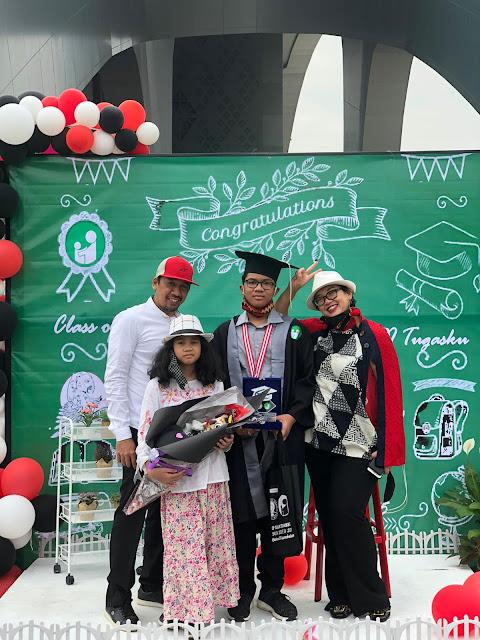 Drive-In Graduation at SMP Islam Tugasku