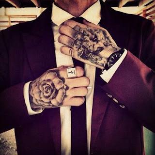 รอยสักมือ