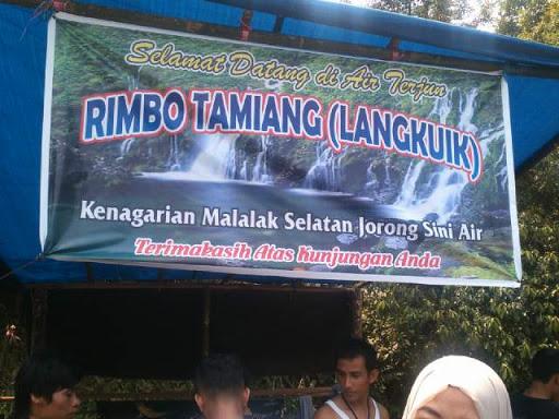 Posko Air Terjung Rimbo Tamiang