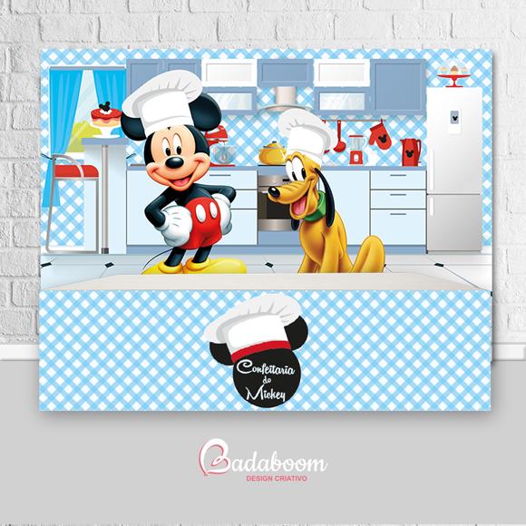 Painel Confeitaria do Mickey