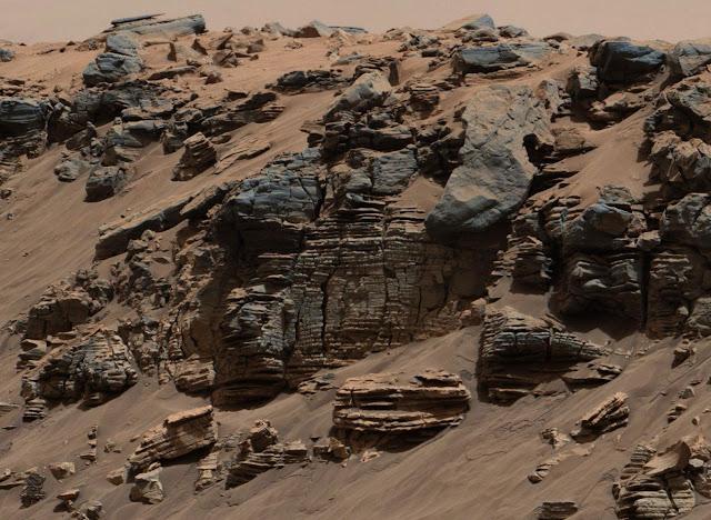 Superficie de Marte por Ingenuity rover