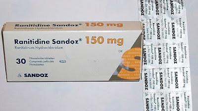 Ranitidine Chữa đau bụng do tăng tiết