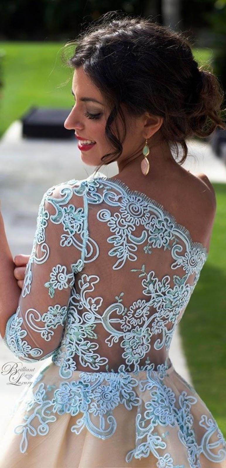 Brilliant Luxury ♦ Silvia Navarro Azuchena dress