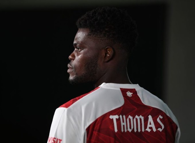 Why Thomas Partey Uses His First Name On His Shirt Revealed