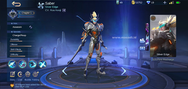 Saber S20 First Purchase