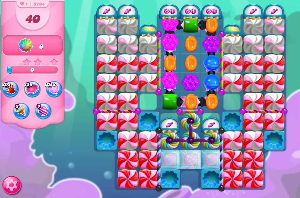 Candy Crush Saga level 8704