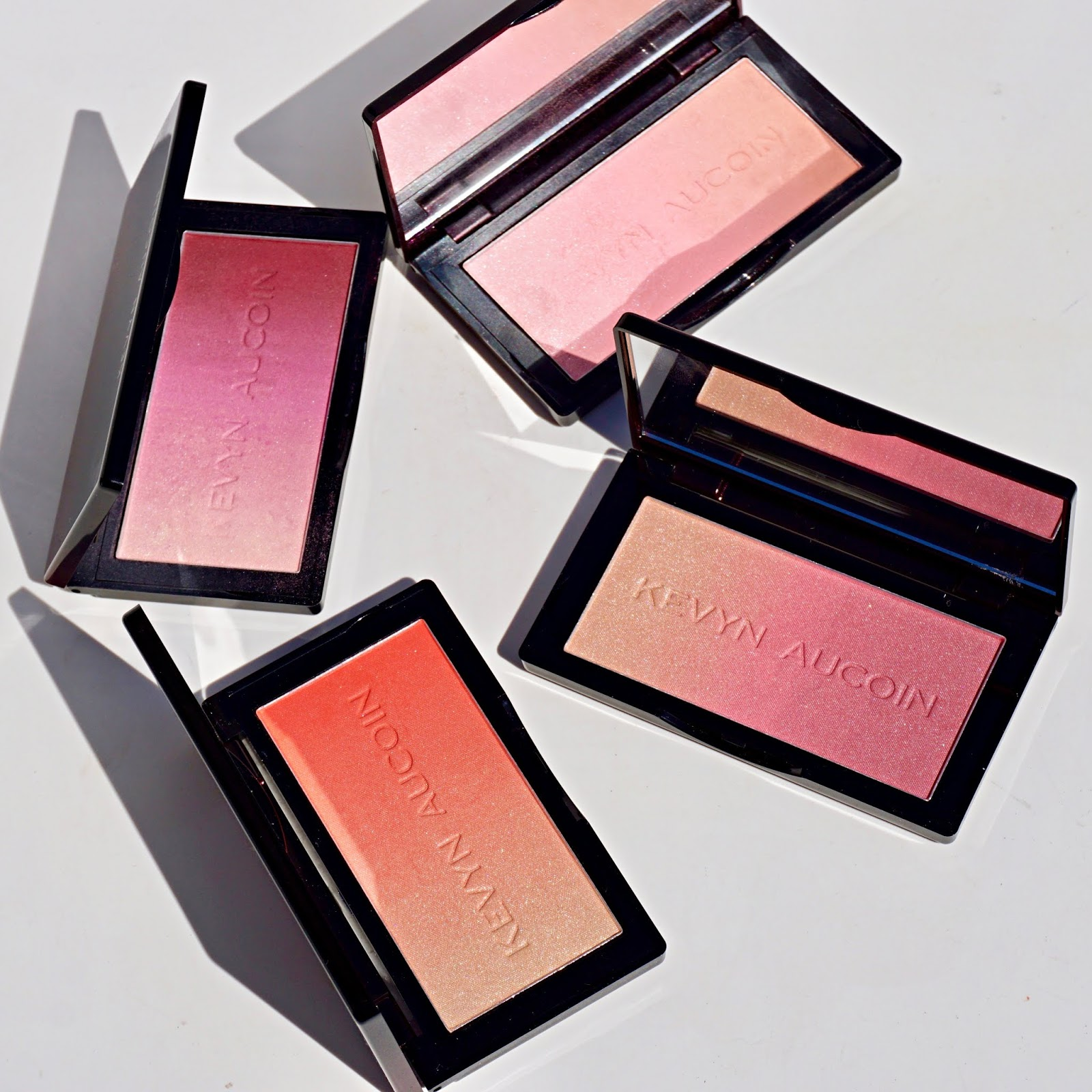 kevyn aucoin neo blush swatches