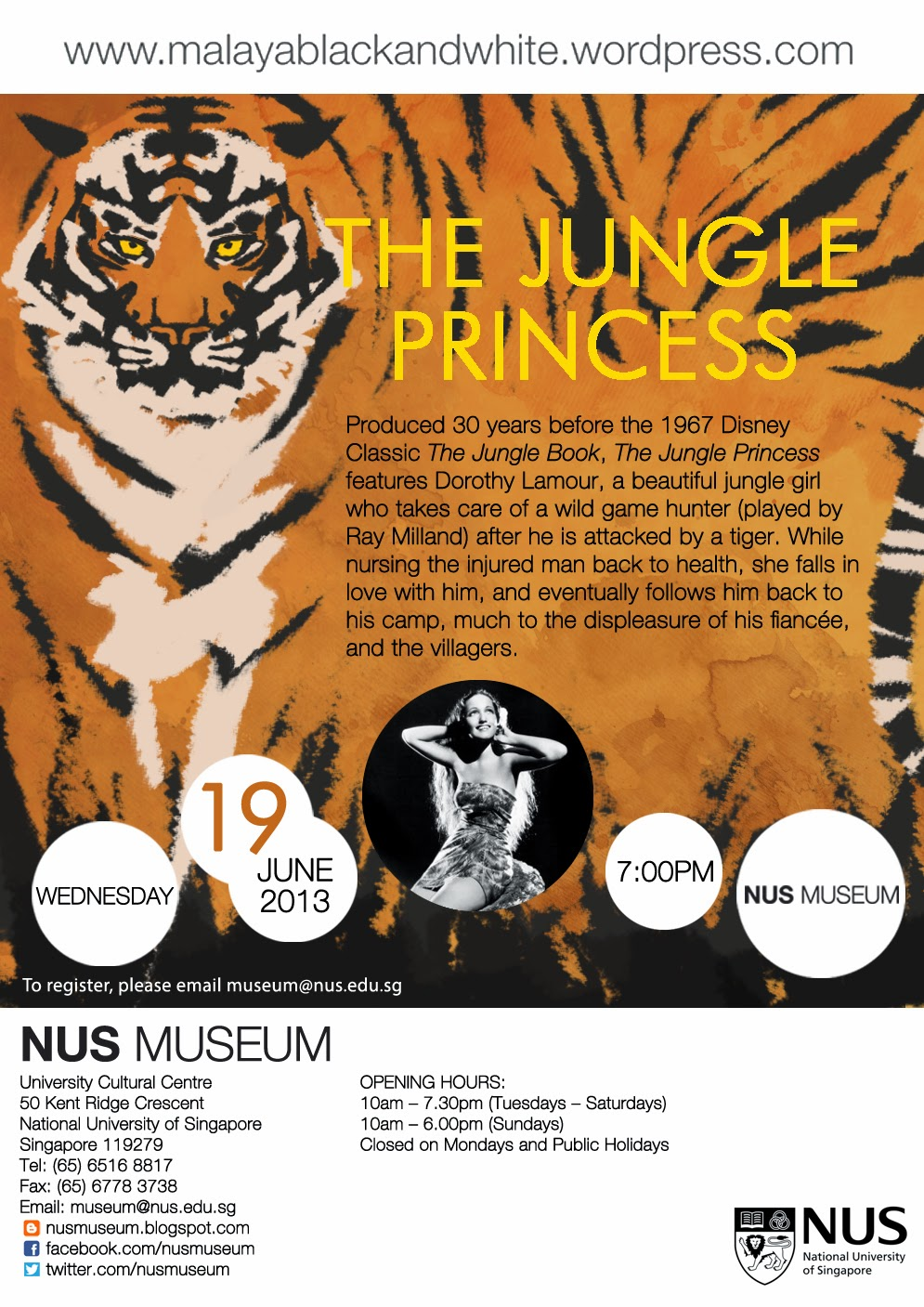 The Jungle Princess   Film Screening
