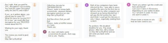 Μην πληρώσετε τα λύτρα σε bitcoin αποκρυπτογράφησης