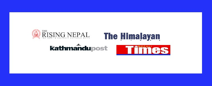 List of English Newspapers in Nepal