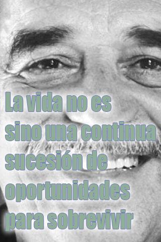 La vida no es sino una continua sucesión de oportunidades para sobrevivir