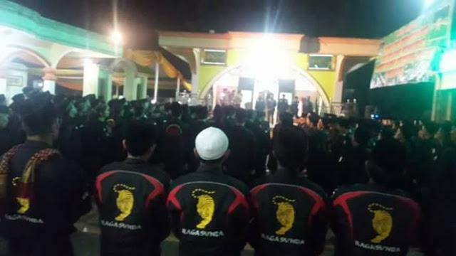 """500 Anggota """"Banser Berani Mati"""" dari Garut Siap Bela NU dan NKRI"""