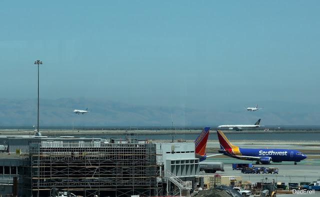 Atterrissages parallèles, Aéroport de San-Francisco