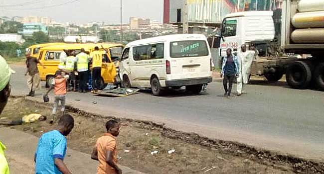 Commercial  Bus Driver 'Kills' One-Year-Old Babyin Lagos