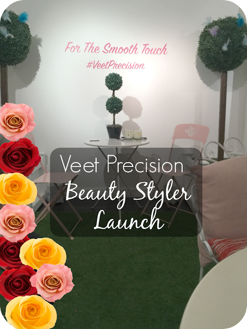 veet precision beauty styler launch event