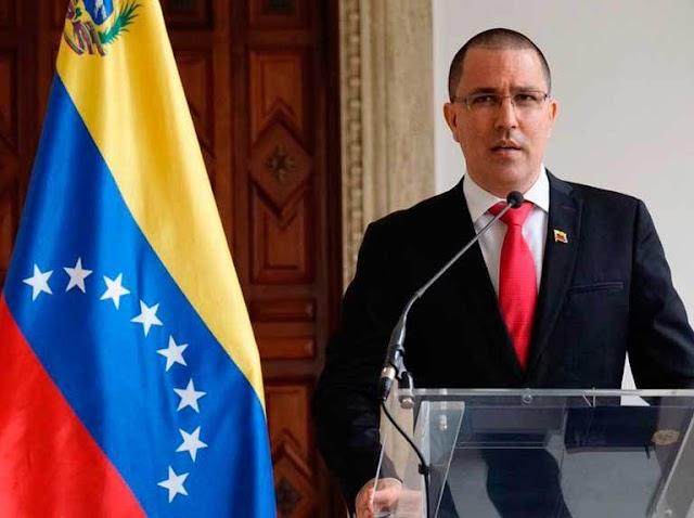 Jorge Arreaza critica a EEUU por TPS y exige levantar las sanciones