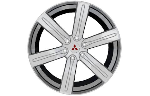 Roda Pajero Full (3D Model)