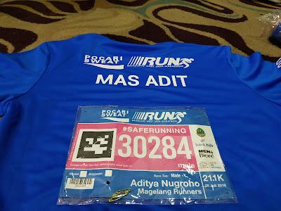 Gallery PSBR 2019 - Jersey Belakang Pocary Sweat Bandung Run (PSBR) 2019