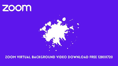 Zoom virtual background video download free 1280x720