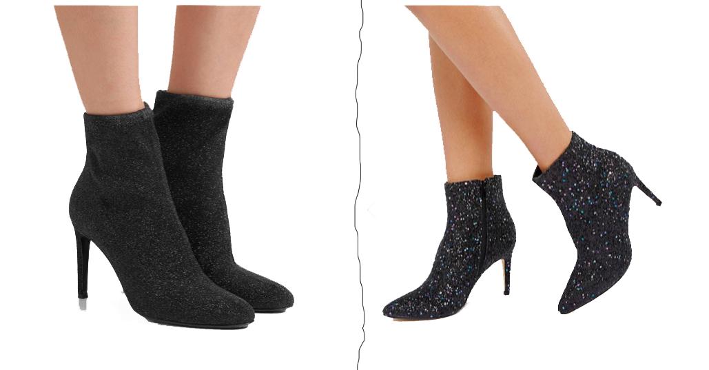 AW17/18 Footwear Shoe Trends Glitter Boots