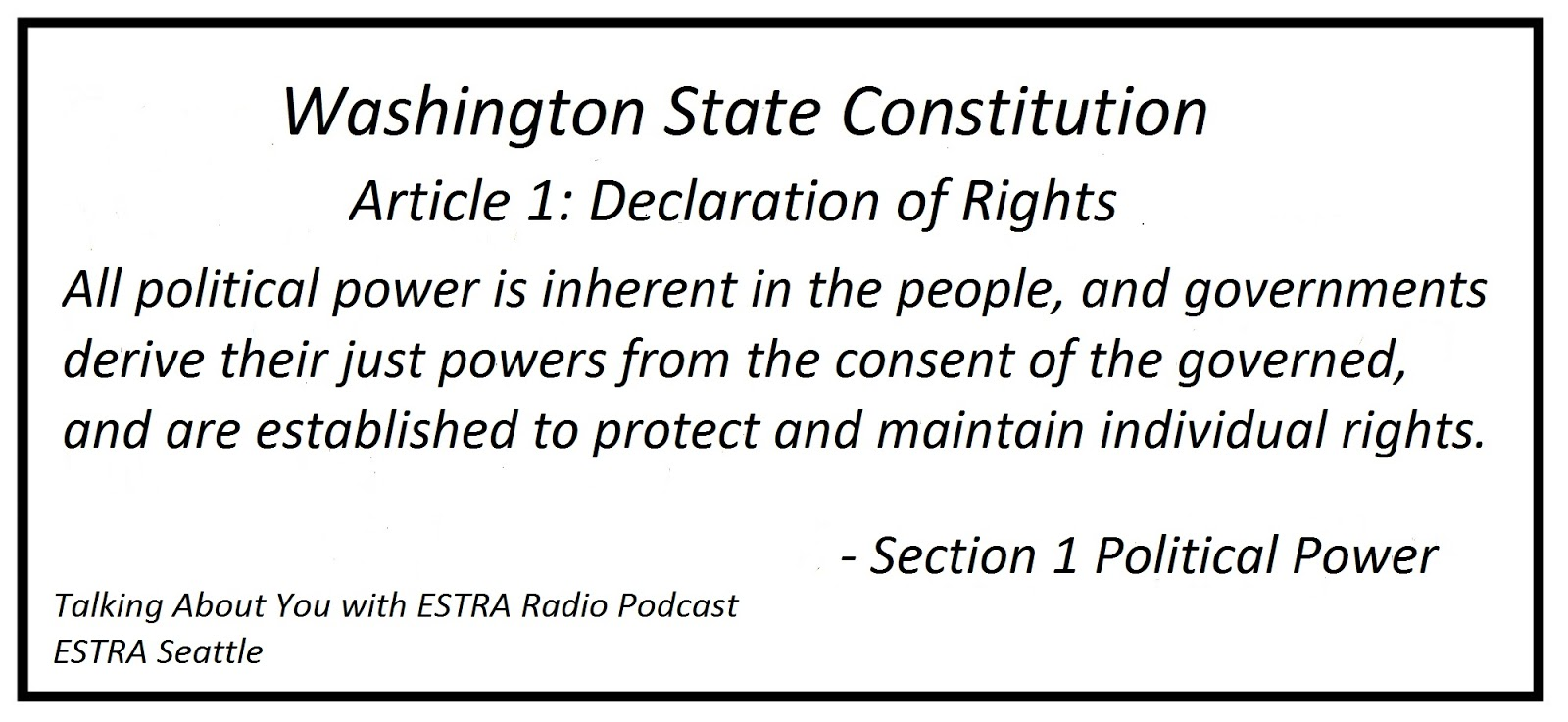section 1 of constitution