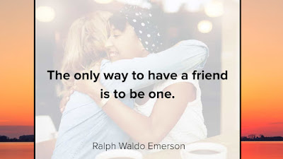 Quote of the day love friendship