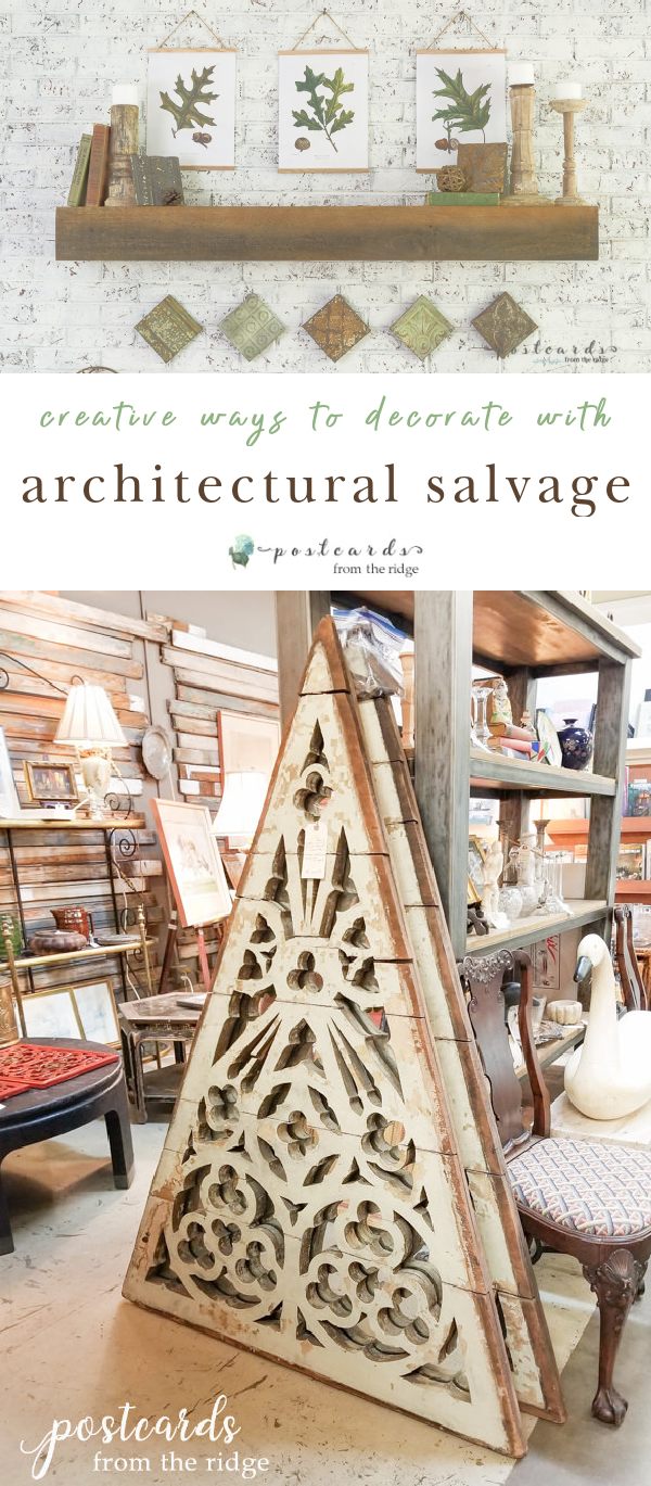 architectural salvage pieces