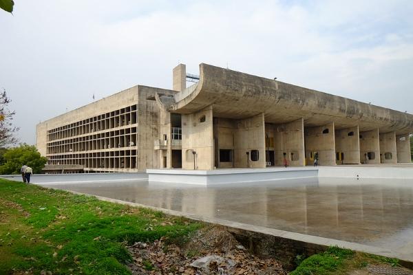 Chandighar-Le Corbusier-India-città
