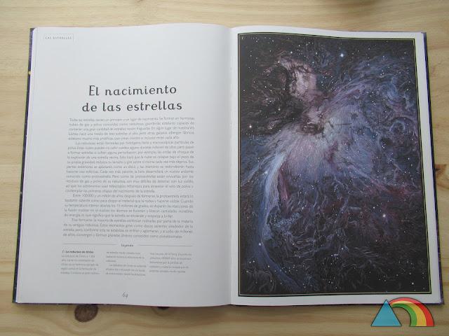 Interior libro Planetarium de la Editorial Impedimenta