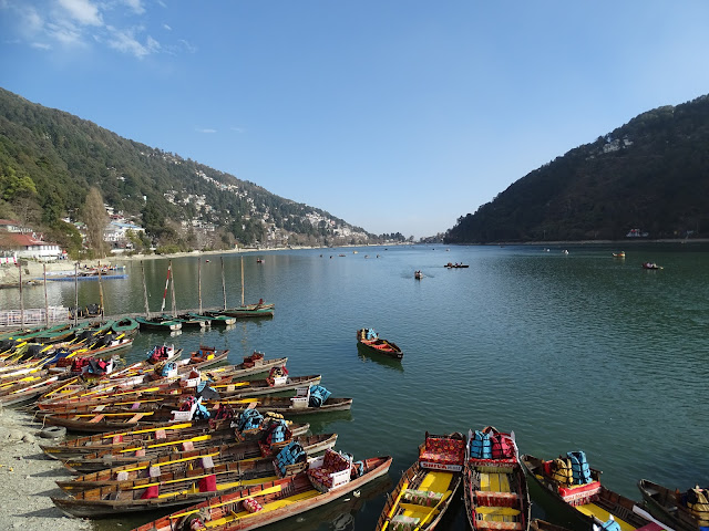Nainital Lake from Boat House Club