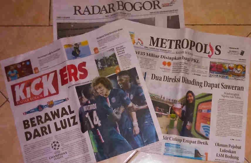 Image Result For Berita Koran Bogor Oktober A