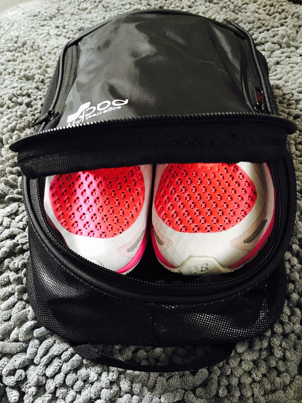 The Large Shoe Locker Fits Up To Men S Size 13 And Features A U Shape Zip Opening That Can Be Partially Unzipped At Top For Ventilation
