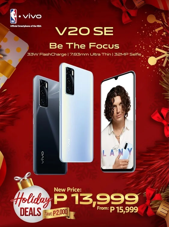 PRICE DROP ALERT: Vivo V20 SE Now Only Php13,999 (From Php15,999)