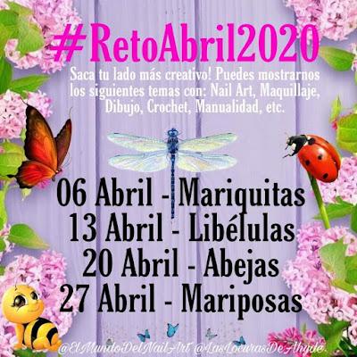Reto abril 2020 4 temas para hacer en 4 semanas, del 6 al 27 de abril.