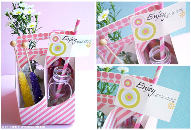 enjoy your day, spring note cards, spring gift basket, gift ideas