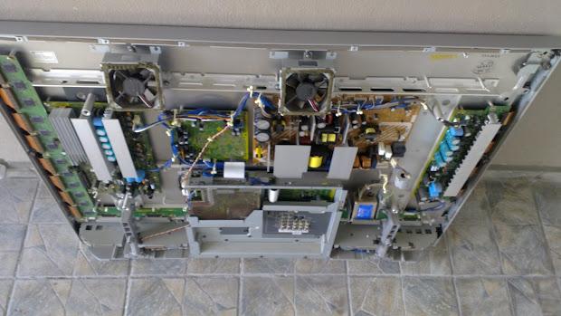Plasma Tv Display Led8001 Light Blinks 7 Times - Year of