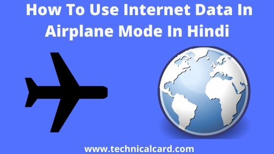 how to use mobile data in flight mode, how to use internet in airplane mode, how to use net in flight mode