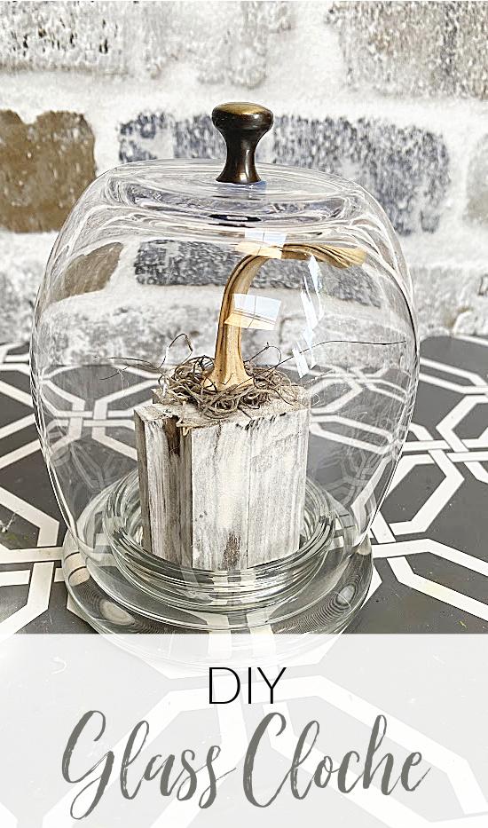 glass cloche pin