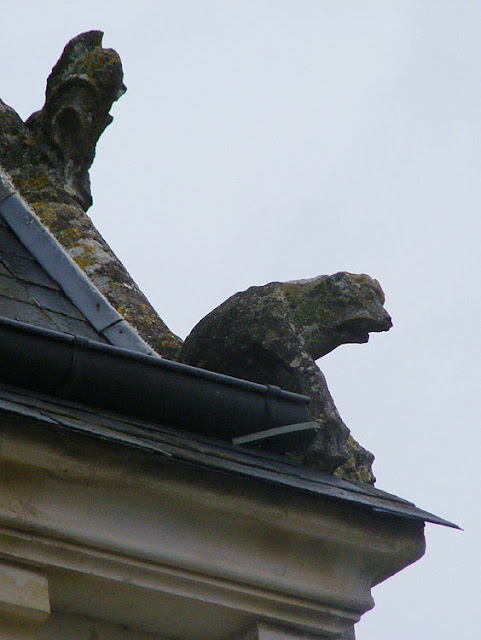 Gargoyle, Concremiers, Indre, France. Photo by Loire Valley Time Travel.