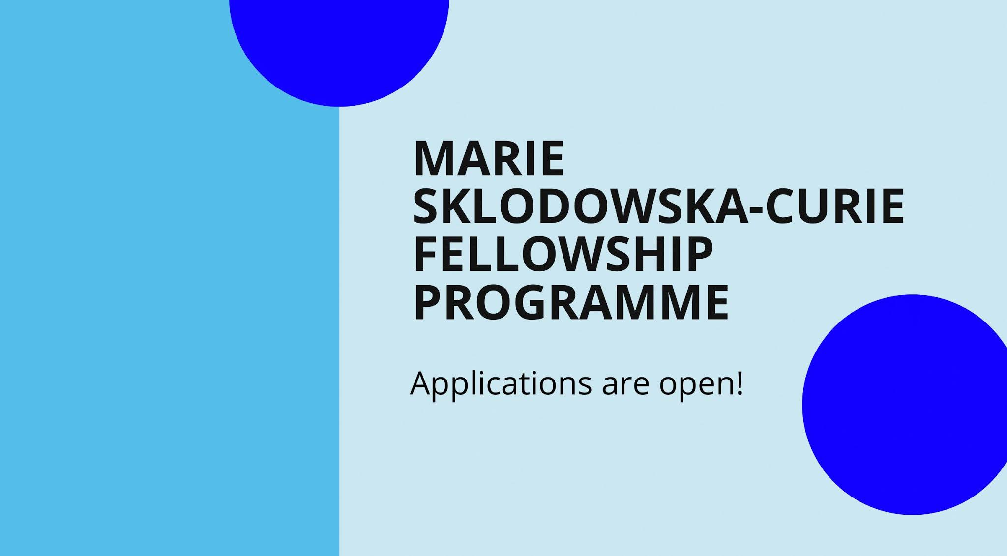 IAEA Marie Sklodowska-Curie Fellowship Programme 2021