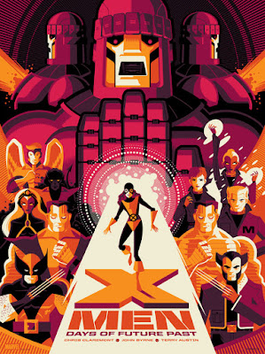 X-Men: Days of Future Past Standard Edition Screen Print by Tom Whalen