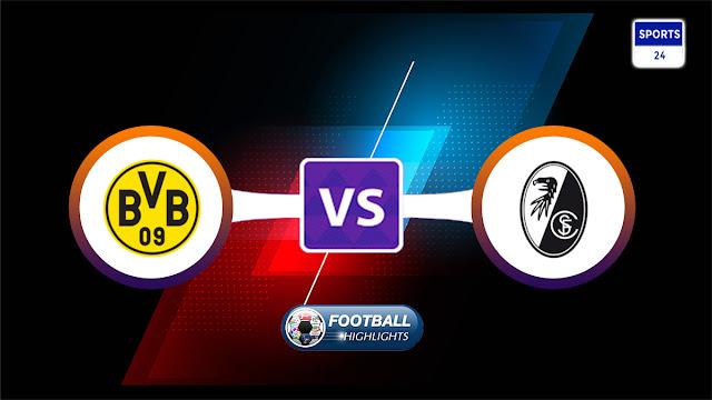 Borussia Dortmund vs Freiburg – Highlights