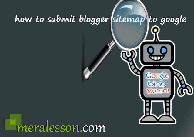 How to Submit Blogger Sitemap To Google 2015 New Method