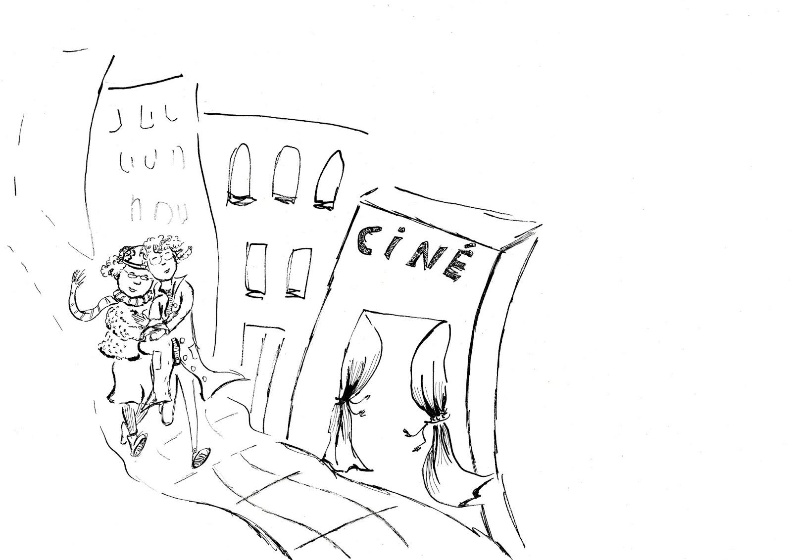 carte de voeux personnalisée ink encre illustration