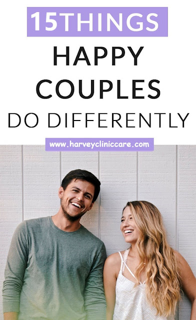 15 things happy couples do differently!