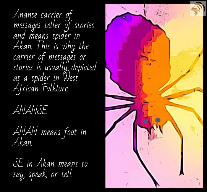 Ananse clever spider story