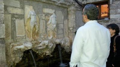 Στην Ιερά Μονή Βροντησίου ο διακεκριμένος